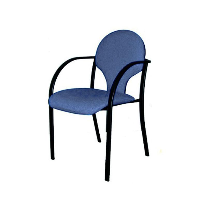 Silla de oficina con reposabrazos icaro 3 qs strong for Costo de sillas para oficina