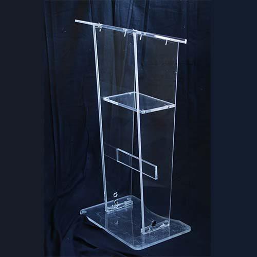 atril transparente