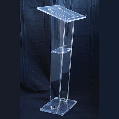 Atril transparente diseño